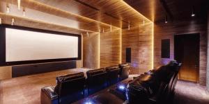 Домашние кинотеатры и комнаты для прослушивания музыки