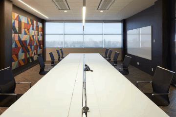 Комнаты для переговоров с высокой степенью защиты - фото