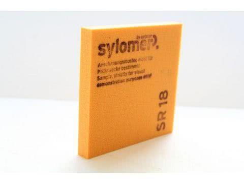 Звукоизоляционные материалы: Sylomer SR 18 оранжевый