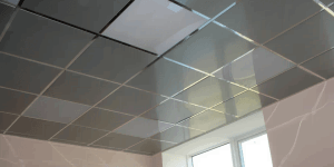 Звукопоглощающие кассетные потолки