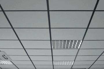 Звукопоглощающие кассетные потолки - фото