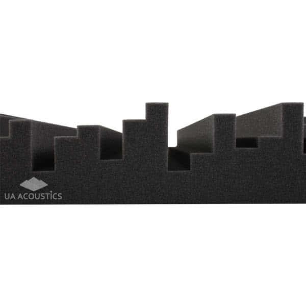 Звукоизоляционные материалы: Акустический поролон «Метро 30». Чёрный графит