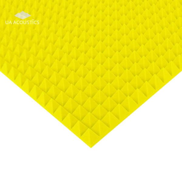 Звукоизоляционные материалы: Акустический поролон «Пирамида 70». Цветной